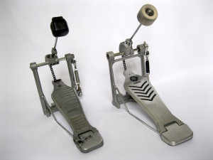 Robonzo's Permier and Yamaha bass drum pedals