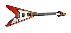 Flying-V guitar clipart - A Musician's Guide to Paid Gigs is for guitar players too. The complete eBook is in the works. Stay tuned for updates.