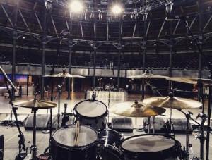 Rikki Stixx drum kit Roundhouse London