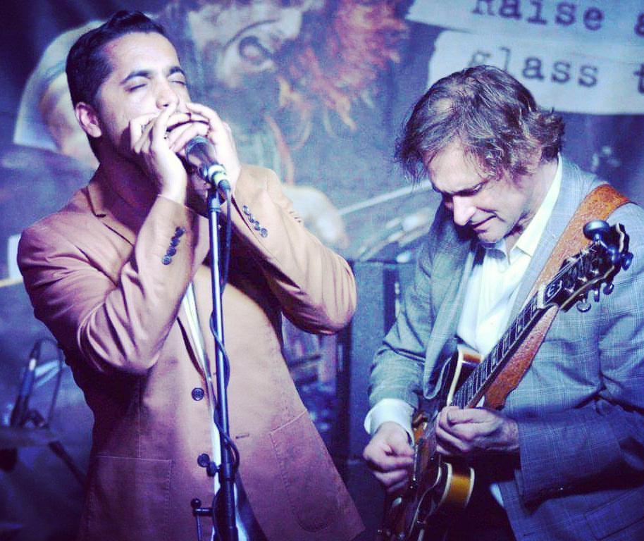 Aki Kumar and Rockin' Johnny Burgin | Aki Goes to Bollywood | Neoprene Fedora | Chicago Blues | West Coast Blues