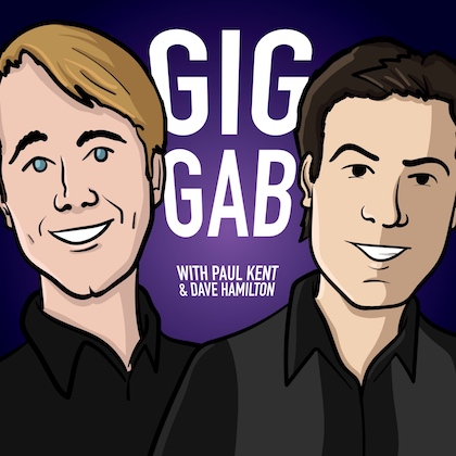 Gig Gab Podcast, episode 88, Roberto Hernandez, Unstarving Musician, The Unstarving Musician's Guide to Getting Paid Gigs, Paul Kent, Dave Hamilton