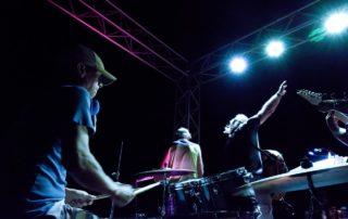 Robonzo with the Jim Votaw Band at Boga Bar, Vista Mar Marina, Panama