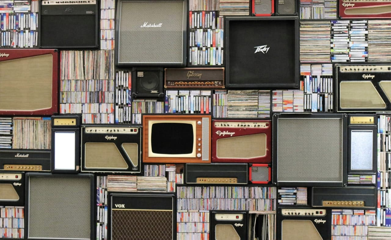 Photo by Expect Best from Pexels - Assorted Guitar Amplifier Lot