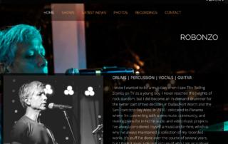 Robonzo's Bandzoogle Website