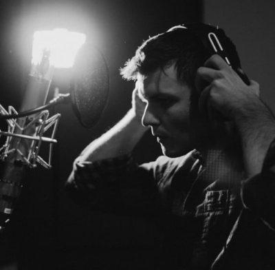 Michael Gilbride, telco in the studio